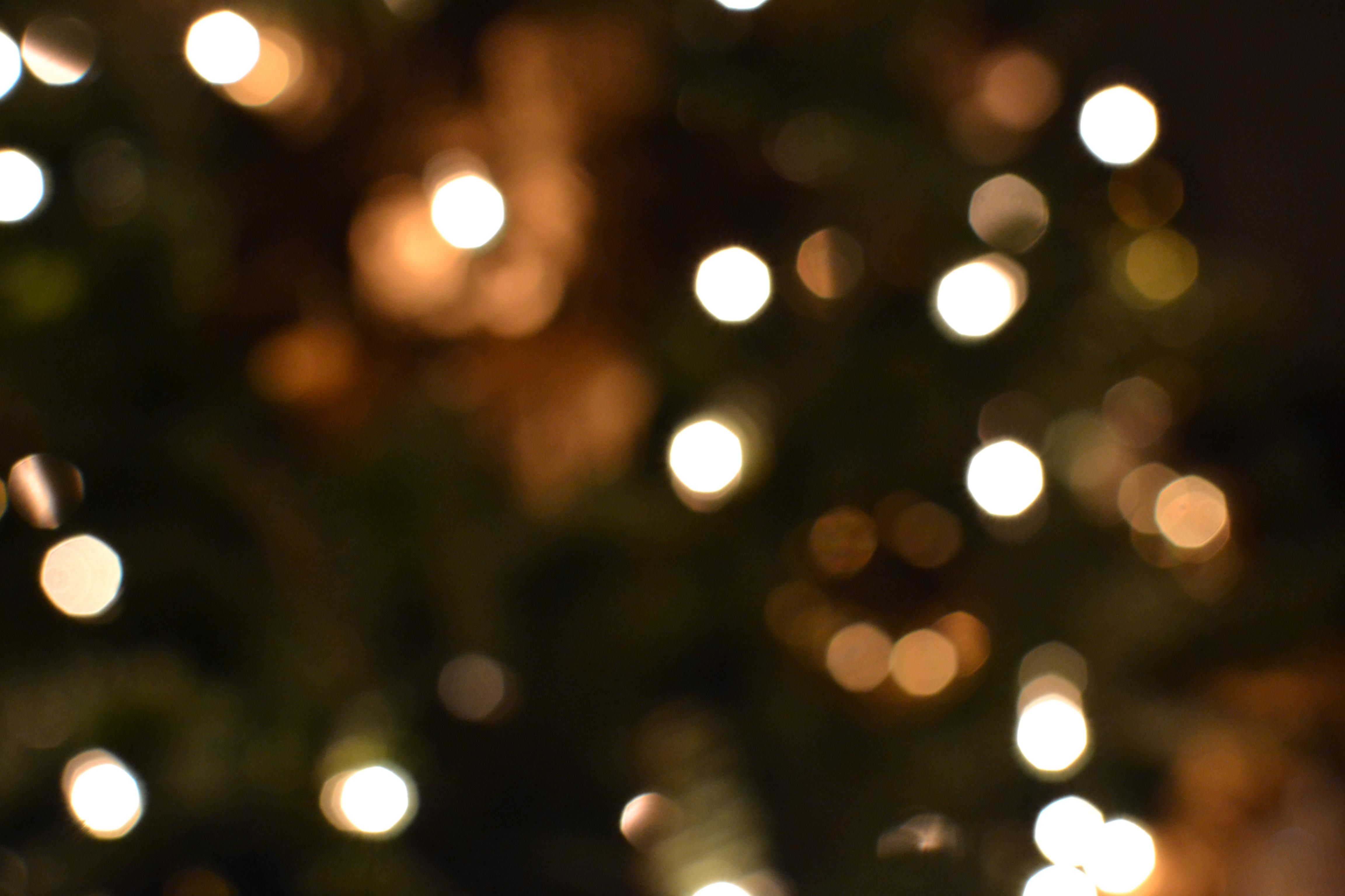 Christmas Lights inGreen