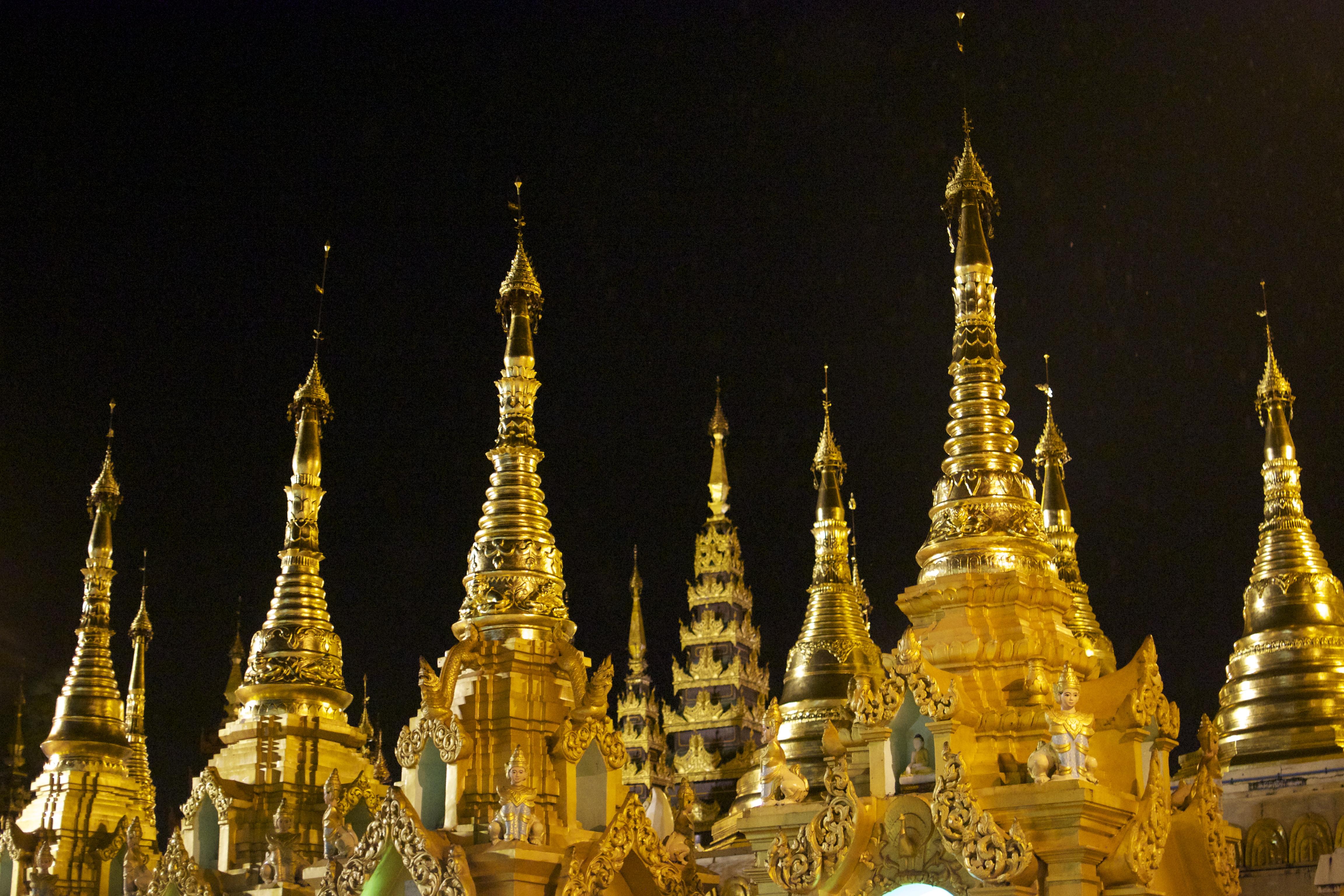Shwedagon Pagoda, Yangon,Myanmar